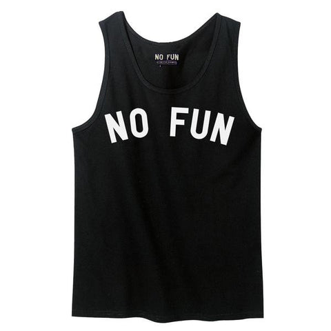 No Fun Press - No Fun - Tank Top