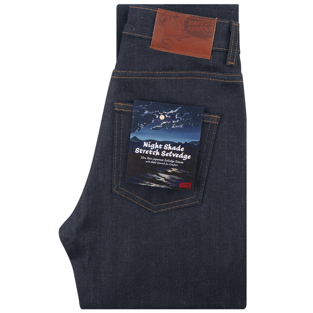 Naked And Famous - High Skinny - Nightshade Stretch Selvedge - Gals