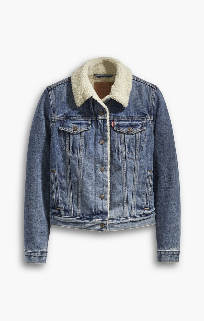 09cc33ab691e Levi s - Original Sherpa Trucker - Extremely Loveable - Gals – O s ...