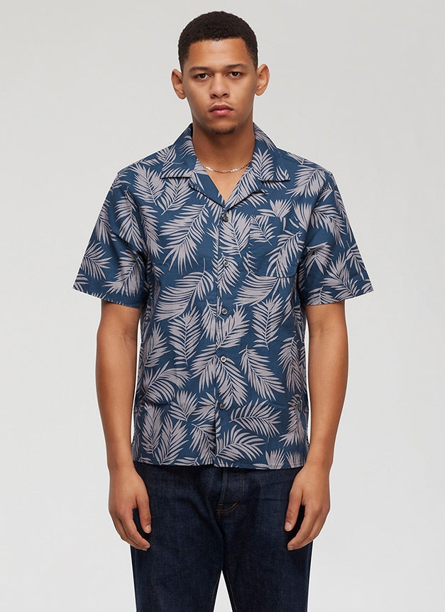 Penfield - Mahoney S/S Shirt - Navy - Guys