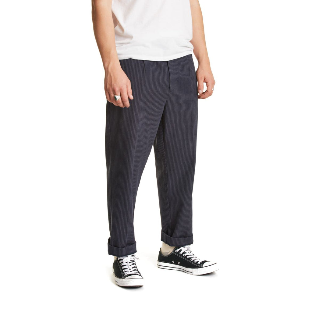 Brixton - Regent Trouser - Navy/Stripe - Guys