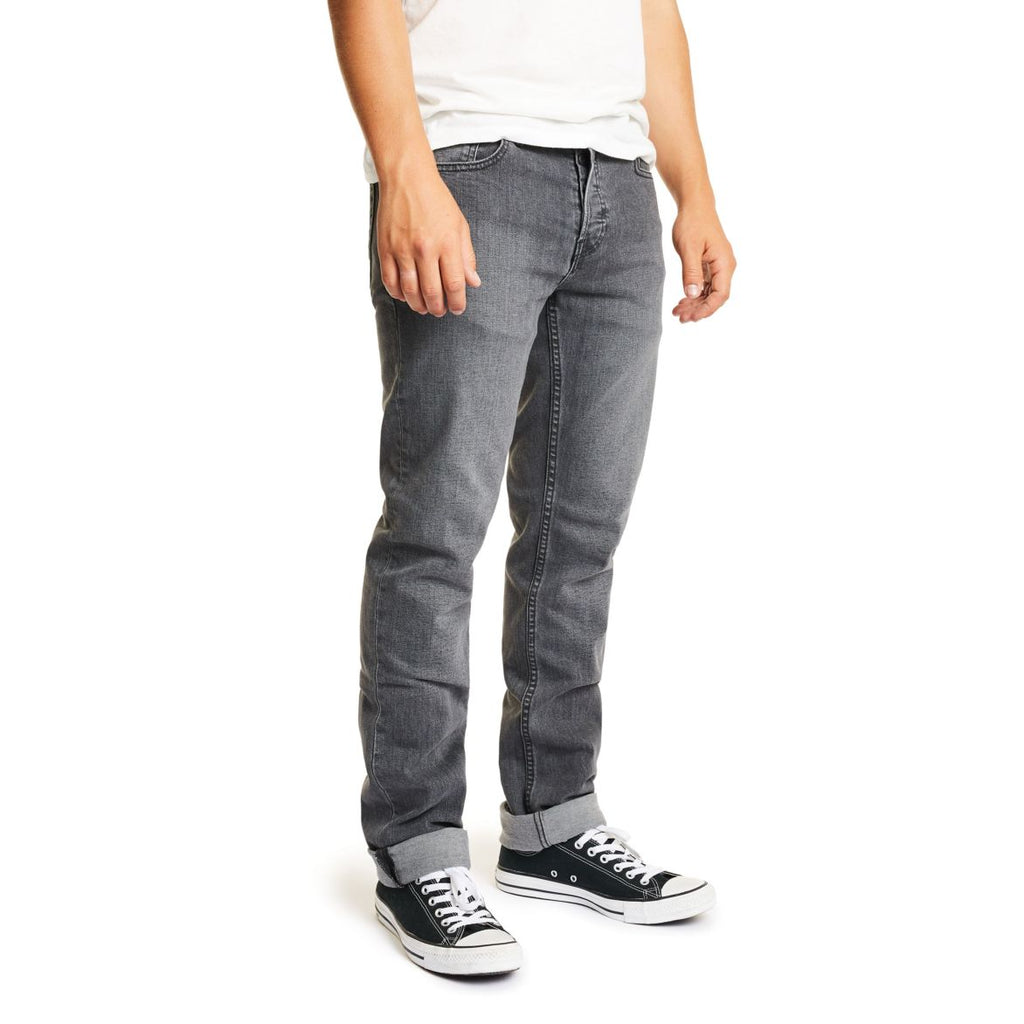 Brixton - Reserve Denim Pant - Worn Black - Guys