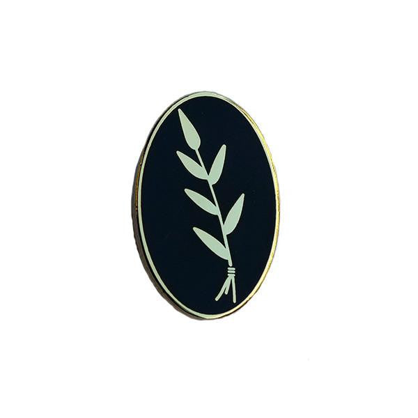 Explorer's Press 'Slower Black Wheat' Pin