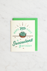 Valley Cruise Press - Hope You Have A Succulent Birthday - Enamel Pin + Greeting Card