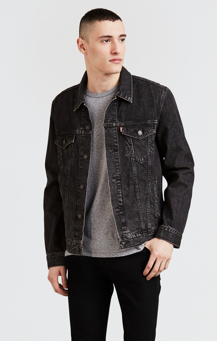 Levi's - Trucker Jacket - Fegin (Faded Black) - Guys