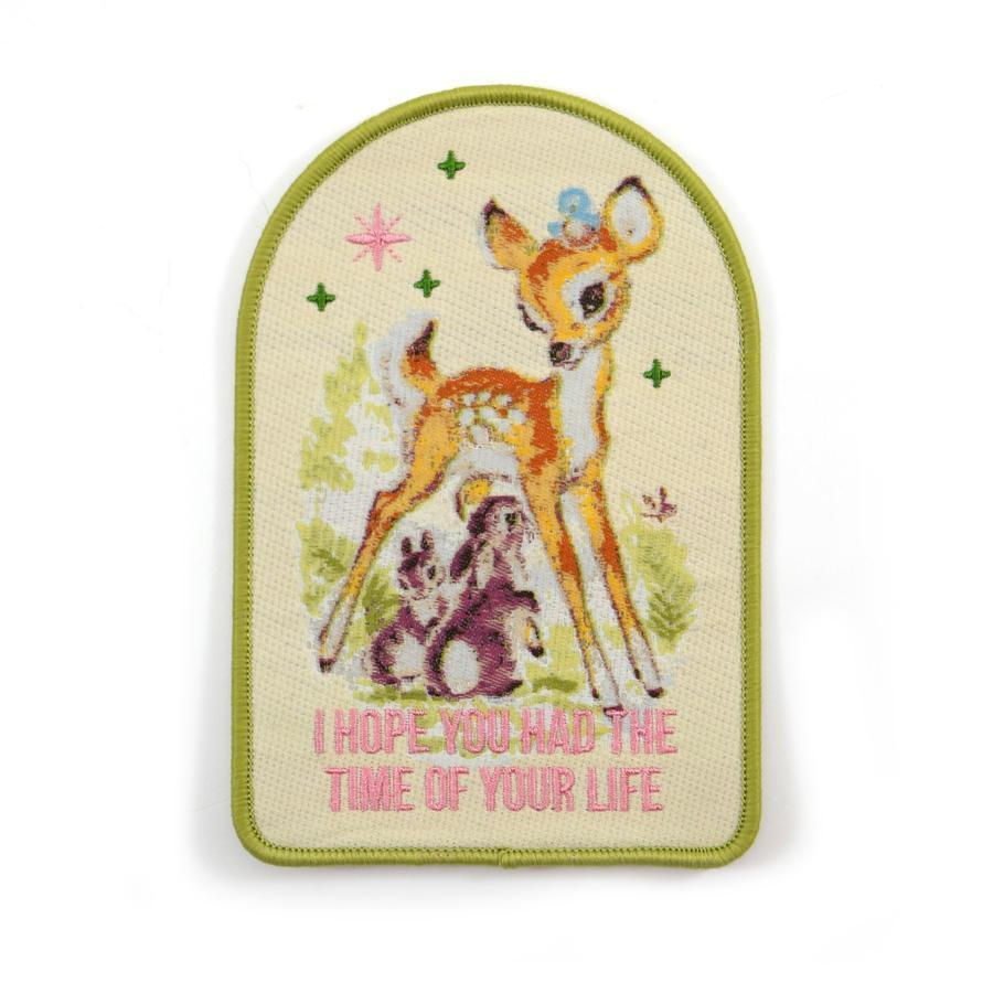 Time of Your Life - Embroidered Patch