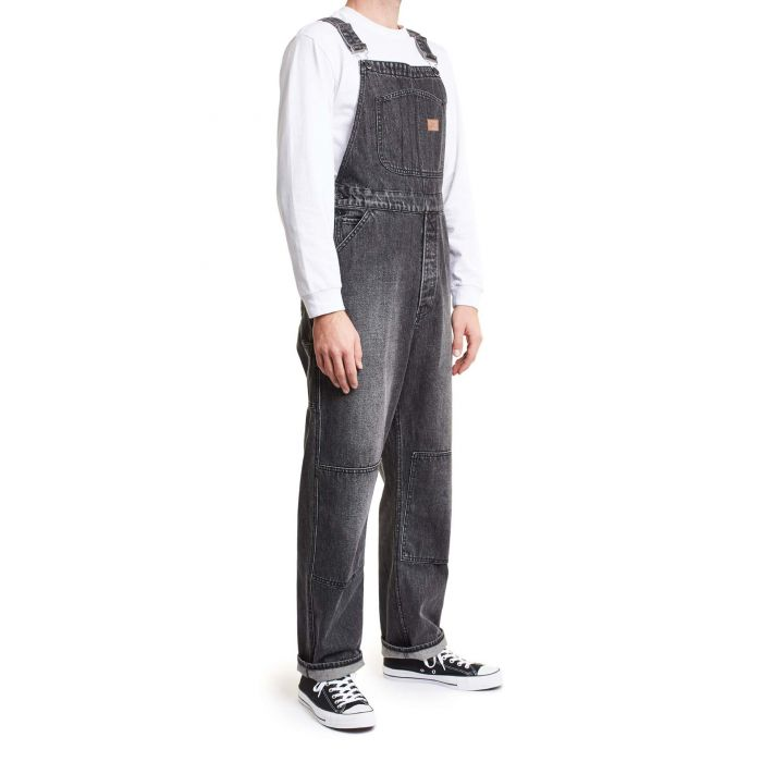 Brixton - Union Overall - Worn Black - Guyz
