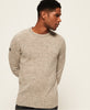 Superdry - Harlo Twist Crew - Oatmeal - Guys