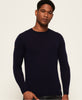 Superdry - Merino Crew - Navy - Guys