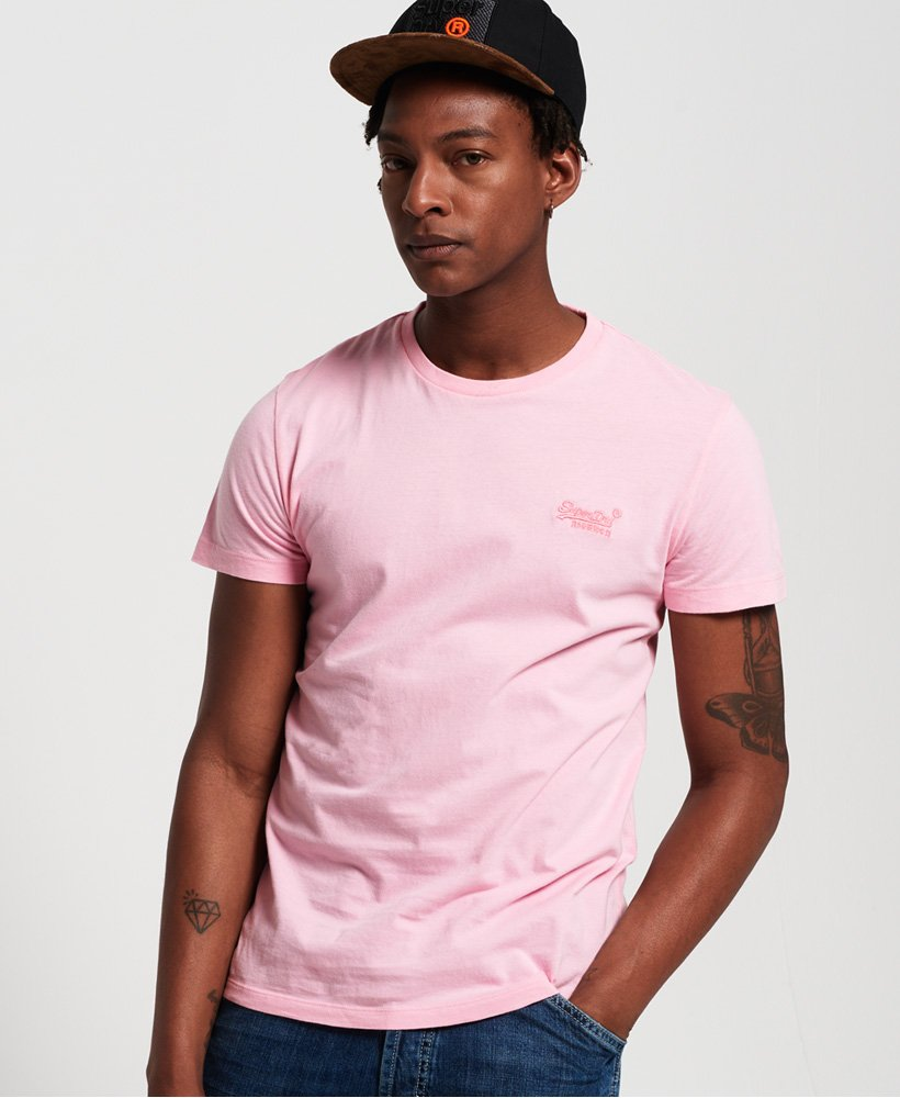 Superdry - Orange Label - Prime Pink - T-Shirt  - Guyz