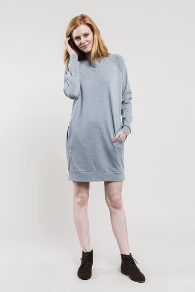 United By Blue - Walsh Raglan Fleece - Dress, Grey