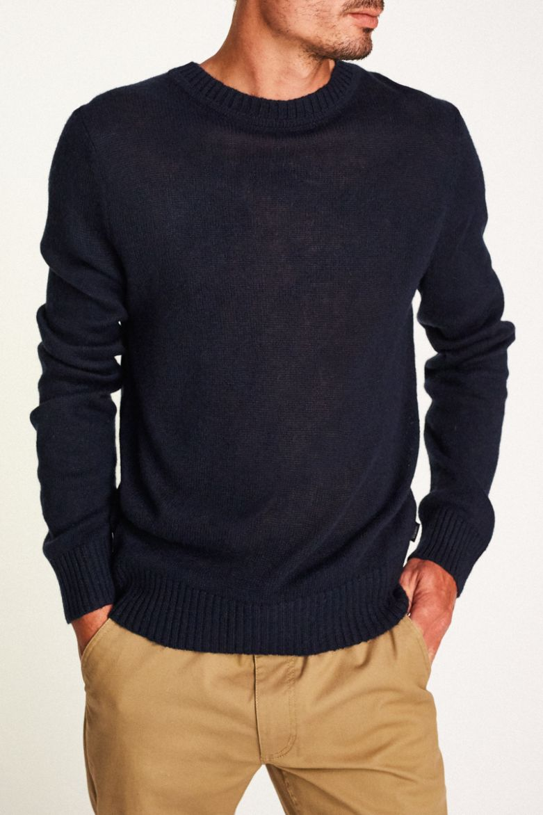 Brixton - Wes Sweater - Navy - Guys