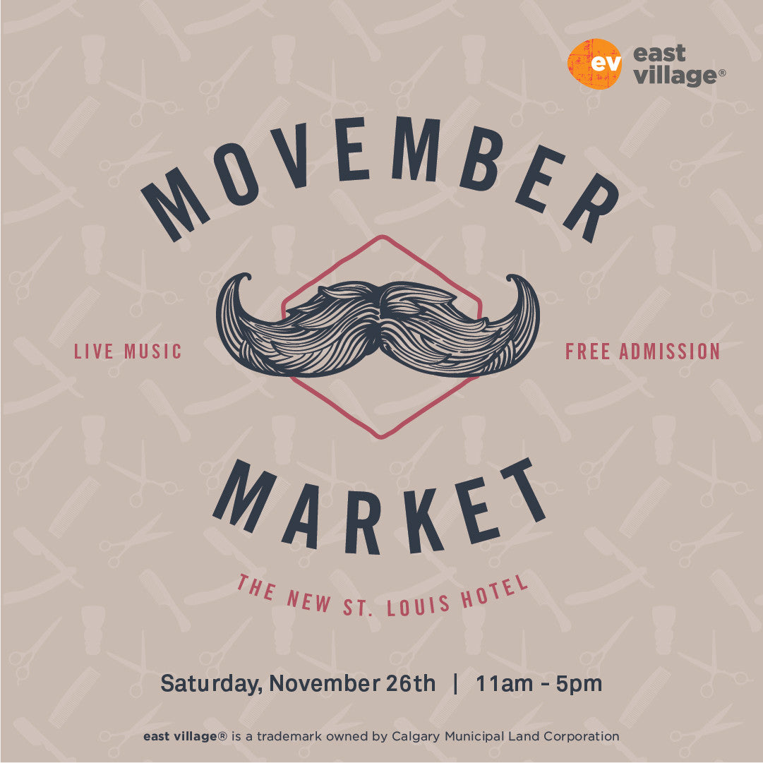 Movember Market - St Louis Hotel