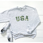 USA Camo Graphic Sweatshirt