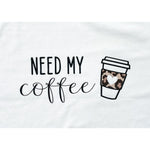 Need My Coffee Leopard Graphic Tee