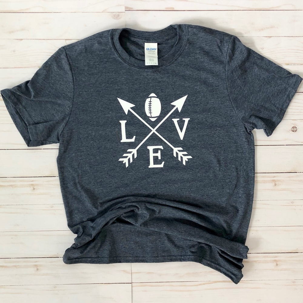 Football Love Graphic Tee - Mel & Mae