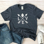 Football Love Graphic Tee