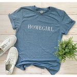 Homegirl Graphic Tee in Blue
