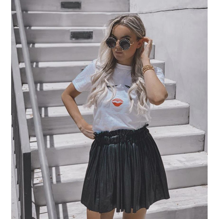 Eyes and Lips Graphic Tee