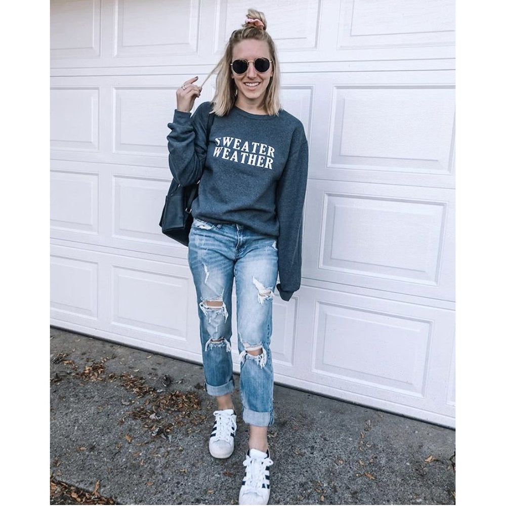 Sweater Weather Graphic Sweatshirt