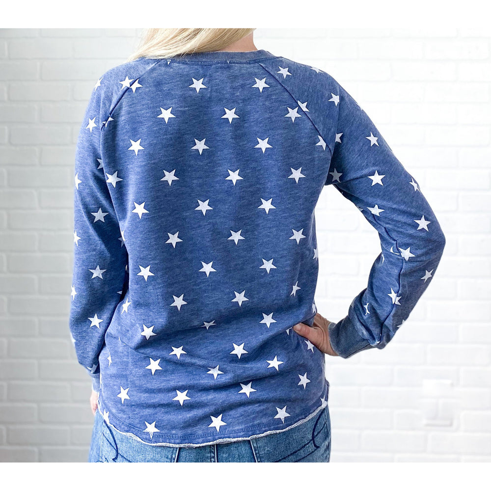 America Star Graphic Sweatshirt