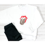 Leopard Tongue Sweatshirt
