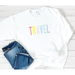 Travel Sweatshirt in White