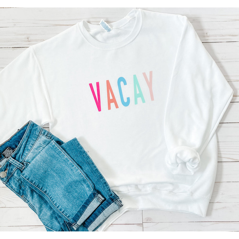 Vacay Graphic Sweatshirt