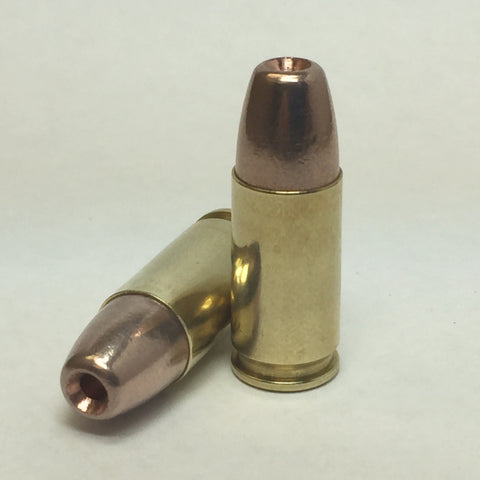 9mm 100 gr Hollow Point (CASE OF 500 ROUNDS)