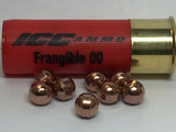 12 GA 240 gr Frangible 00 Buck Shot 8 Pellet (CASE OF 250 ROUNDS)