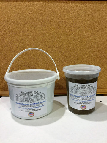 Buy 3 1/2 lb Bucket Get 26 oz Tub 1/2 Price of Catfish Crack Dough Bait
