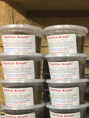 10 Oz Pint Catfish Crack Cheese and Blood Punch Bait