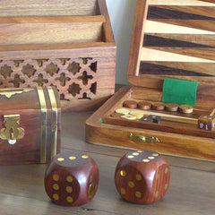 Wooden Games and Boxes