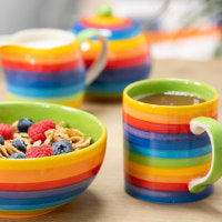 Rainbow Ceramic Tableware