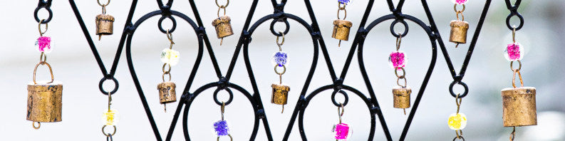 Windchime with bells and beads header