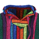 Purity Style Rainbow Hoodie Close up