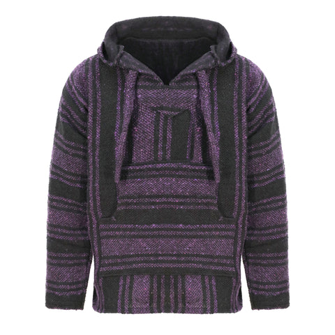 Baja Hoodie - Purple and Black