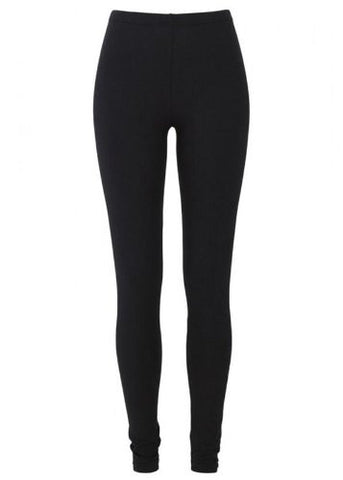 Organic Cotton Leggings - Black