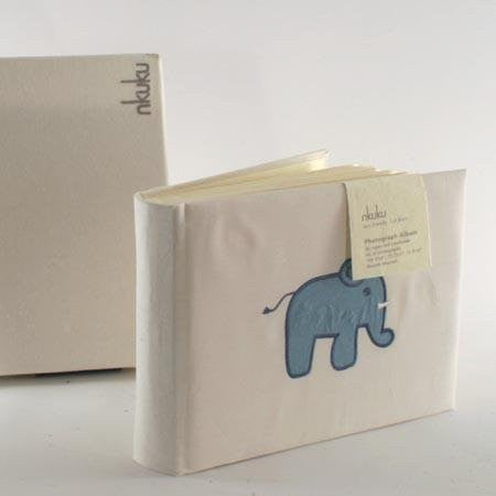 Baby Ele Photograph Album Blue