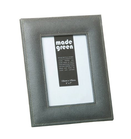 Cotton Leather Photo Frame 7 x 5