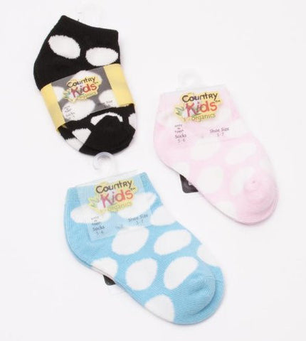 Organic Cotton Dot Socks