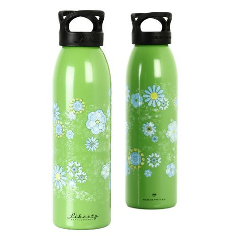 """Ditsy Daisy"" Design Recycled Aluminium Drinks Bottle"