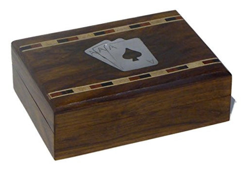 Single playing card box, including one pack of cards