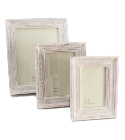Fair trade Wood Photo Frame 4 x 6