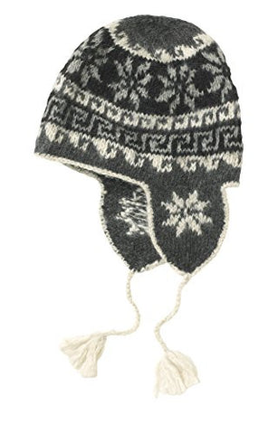 People Tree Fair Trade Alpacca Ear Flap Hat