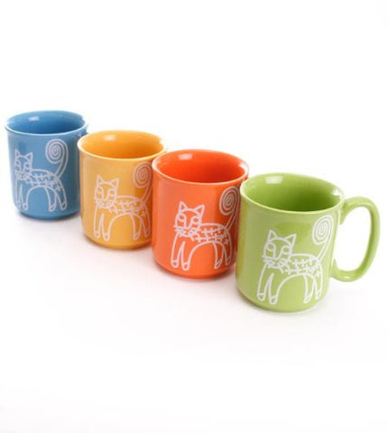 Fairtrade Cat Mug