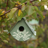 Hand-painted fair trade bird house - Eva Design