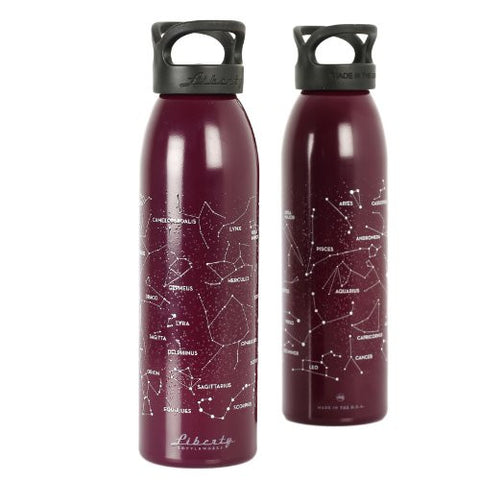 """Night Sky"" Design Recycled Aluminium Drinks Bottle"