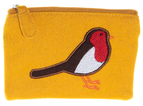 Robin Fair Trade Felt Purse