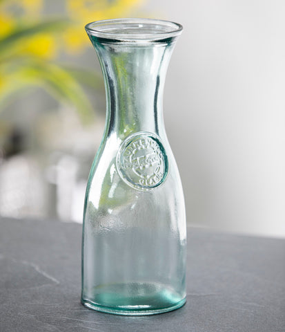 Authentic Recycled Carafe 2